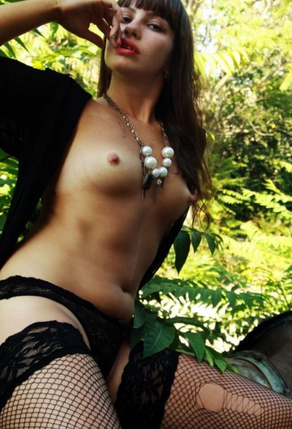 Проститутка в парке
